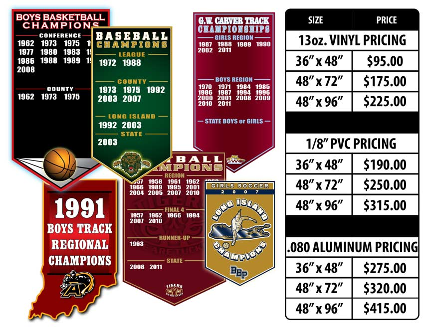 Add-A-Year Signs & Banners