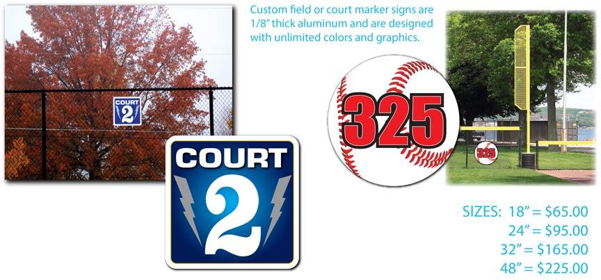 Baseball & Tennis Markers