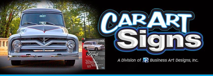 CarArt Signs Logo
