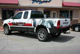 Vehicle Decals Big-O-Tires