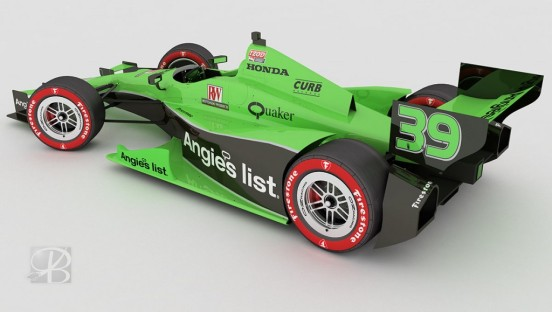 Angie's List Livery Design