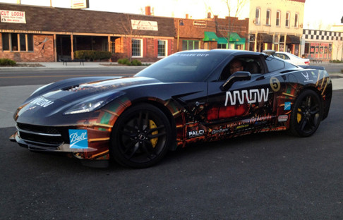 Sam Schmidt Arrow Vehicle Wraps