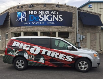 Big-O-Tires Vehicle Wraps
