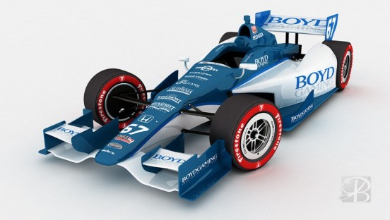 Boyd Gaming Livery Design