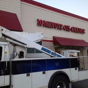Big-O-Tires Bucket Truck Services