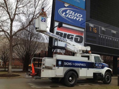 Victory Field Bucket Truck Services