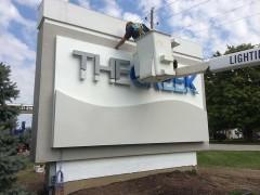 Indian Creek Church Bucket Truck Project