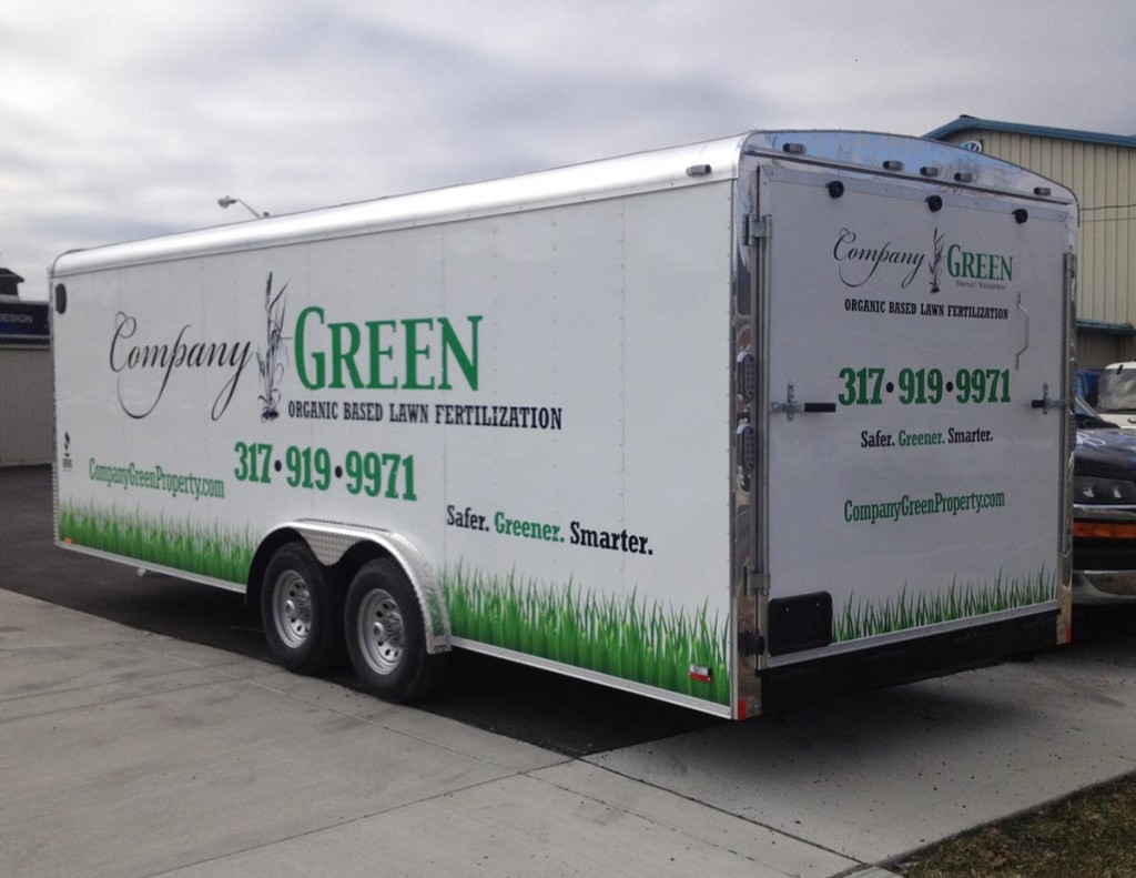 Company Green Vehicle Decals Business Art DeSigns - Vehicle decals for business application