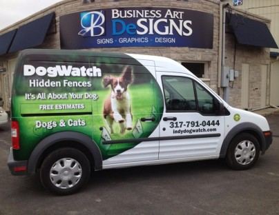 Dog Watch Vehicle Wraps