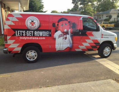 Indianapolis Indians Vehicle Wraps
