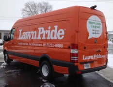 Vehicle Decals Lawn Pride