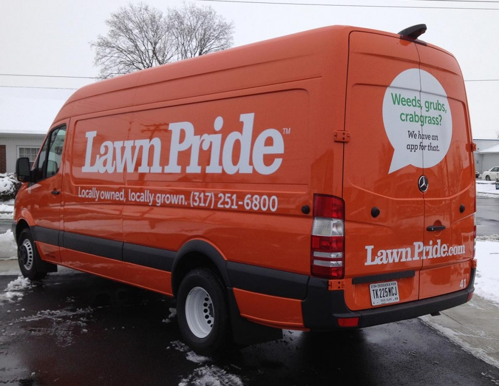 Lawn Pride Vehicle Decals Business Art DeSigns - Vehicle decals for business application