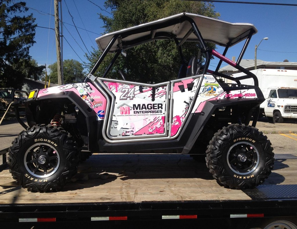Mager Racing Vehicle Wraps