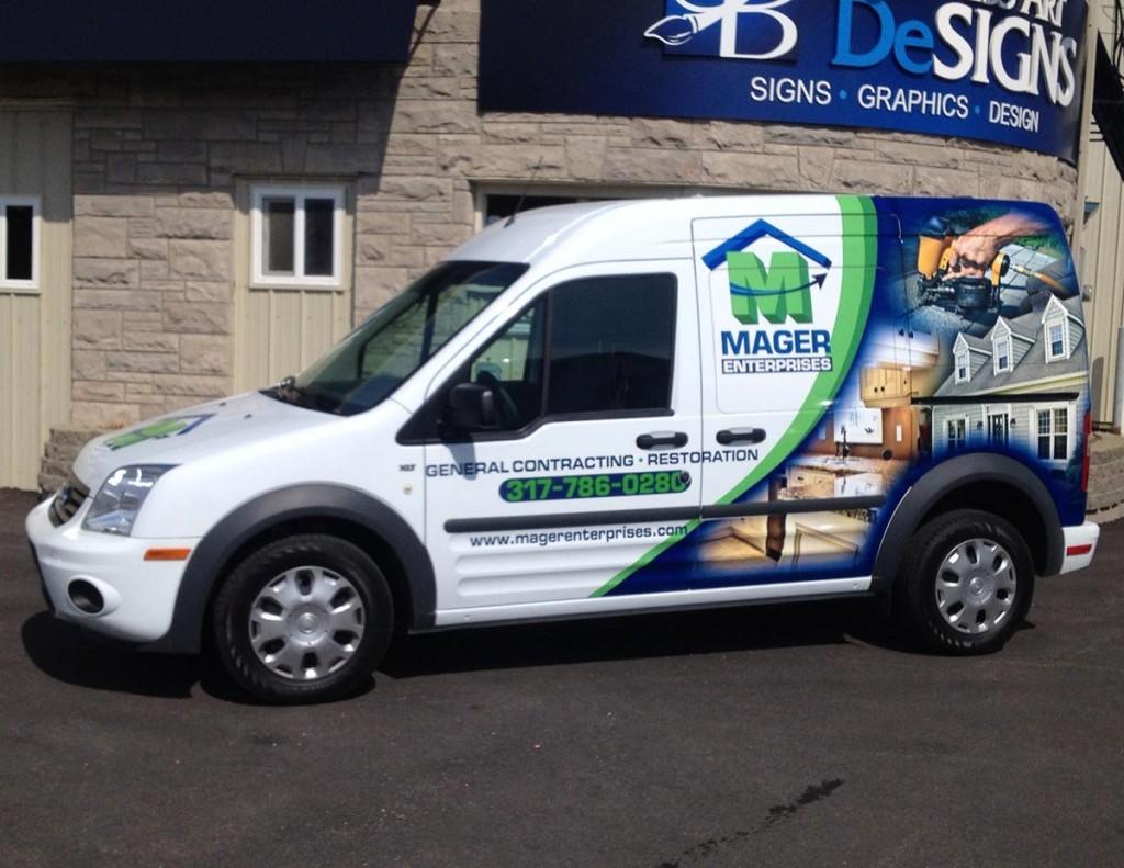 Mager Enterprises Vehicle Wraps