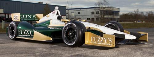 Fuzzy's Vodka IndyCar Vehicle Wraps