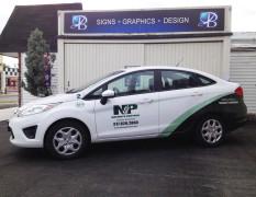 Nature's Partner Vehicle Wraps