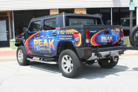 Vehicle Decals Peak Services