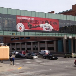 Indianapolis Indians Custom Signs
