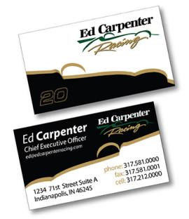 Ed Carpenter Business Card