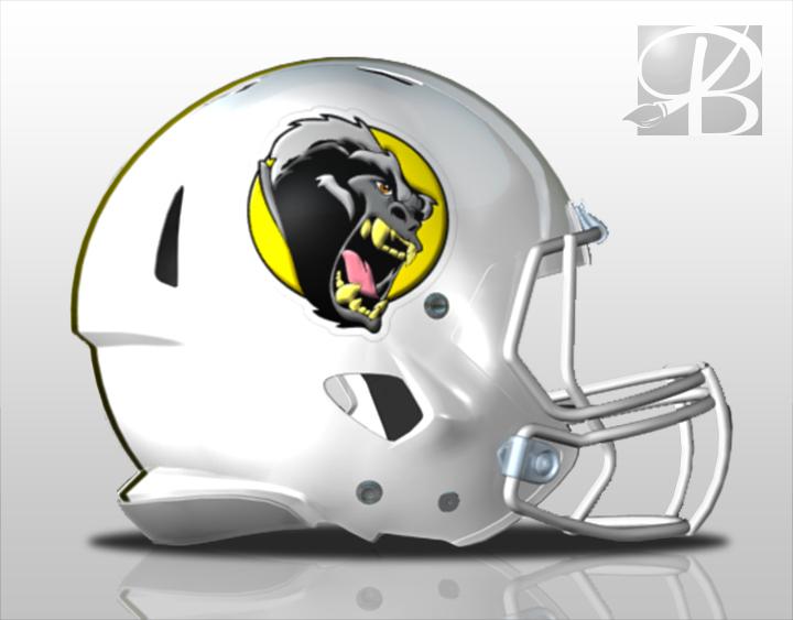 Football Helmet Decals Business Art DeSigns - Helmet decals