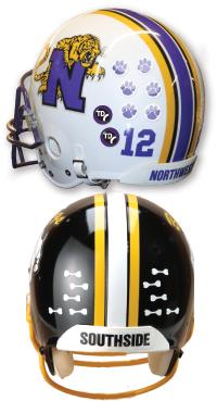 Helmet Award Decals Business Art DeSigns - Helmet decalsfootball helmet decals business art designs