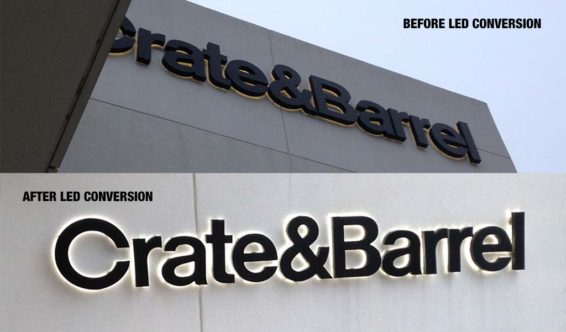 Crate & Barrel Led Conversion