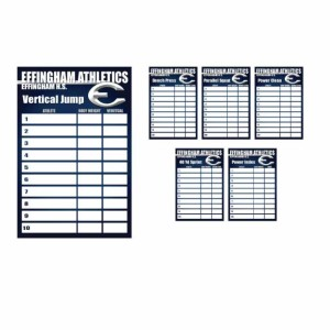 Dry Erase Goal Boards