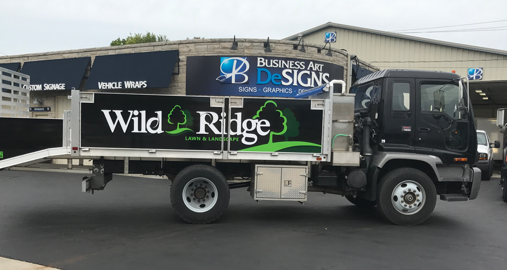Company Green Vehicle Decals Business Art DeSigns - Vehicle decals for business