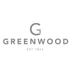 Greenwood City logo black and white