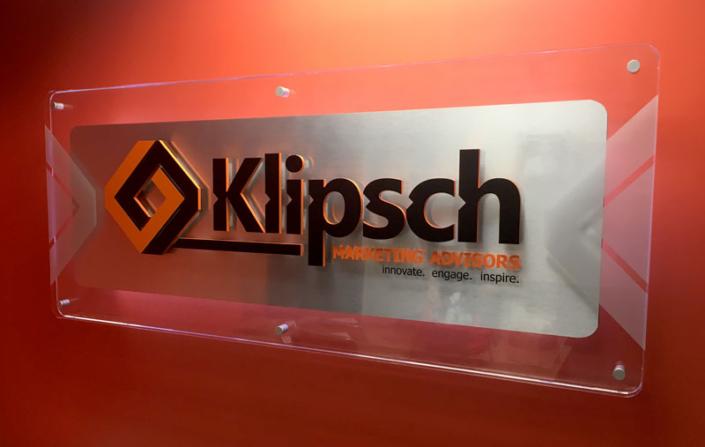 Klipsch Marketing Advisors Interior Sign