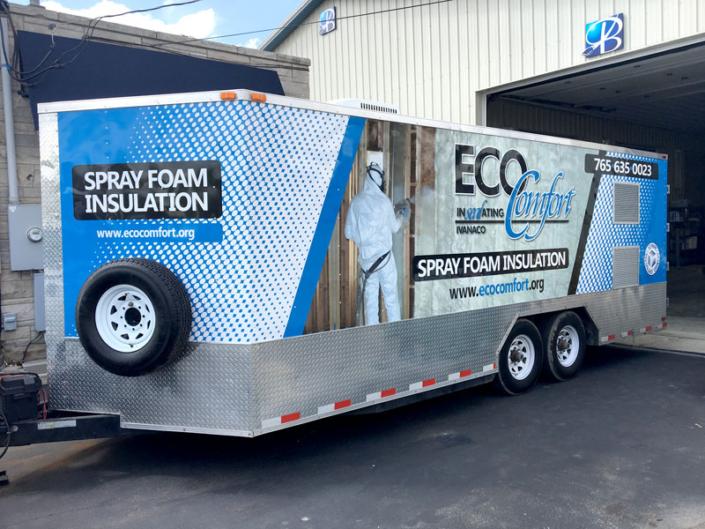 Eco Comfort Trailer Wrap