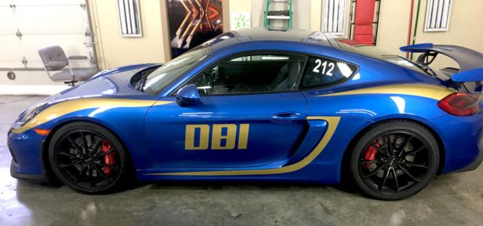 DBI Vehicle Wrap Design