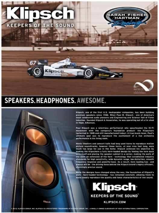 Klipsch Hero Card