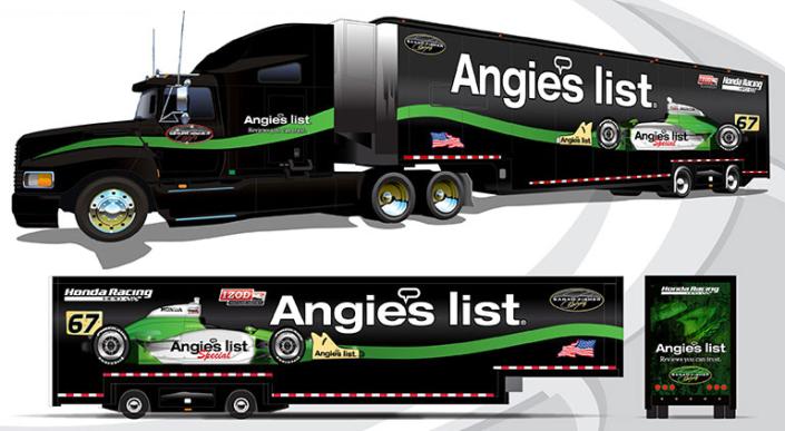 Angie's List Transporter design