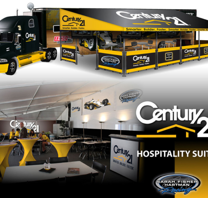 Century21 mobile marketing unit