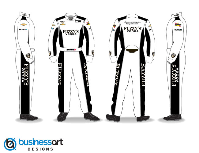 Ed Carpenter Racing fire suits 2018